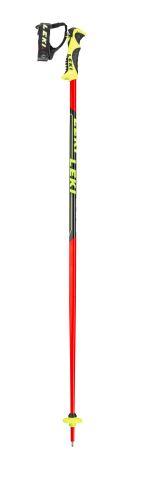 Hole Leki WCR Lite SL 3D, fluorescent red-black-neonyellow - Různé délky