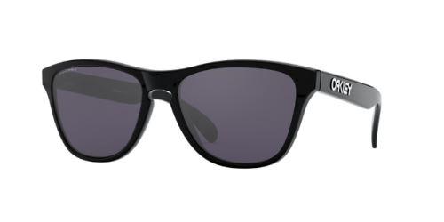 Okulary Oakley Frogskins XS Polished Black / PRIZM Grey