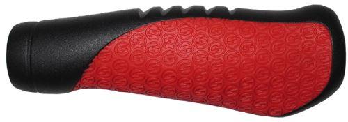 SRAM Komfortní gripy ergonomické 133mm černo/červené