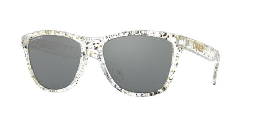 Okulary Oakley Frogskins Splatter Clear / Prizm Black