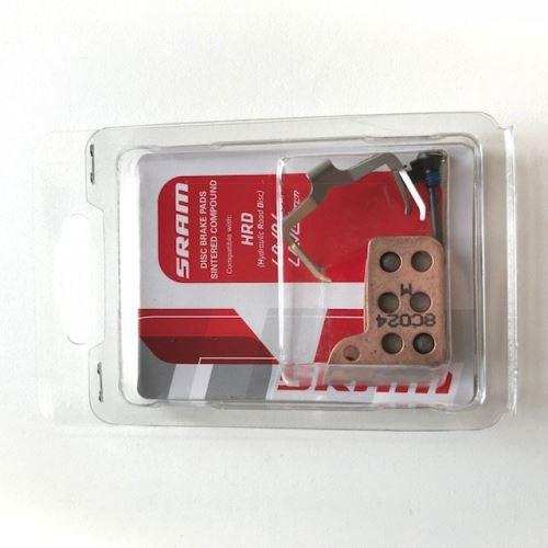 Spiekane / stalowe klocki hamulcowe (sworzeń, szczypce i sprężyna) - SRAM Hydraulic Road