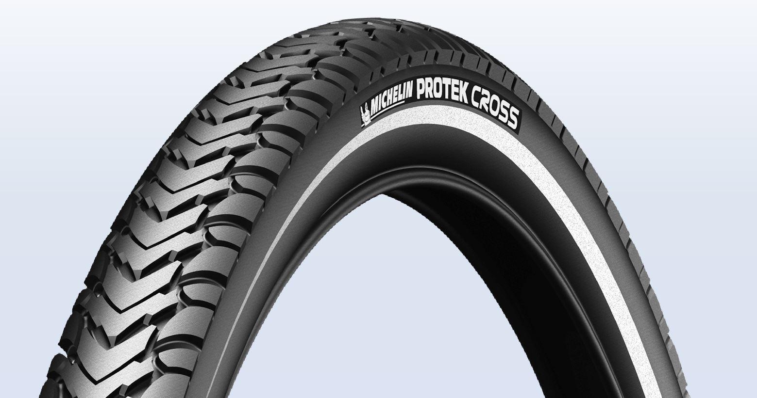 Plášť Michelin Protek Cross 37-622 černý s reflexním pruhem