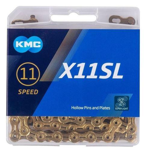 ŘETĚZ KMC X-11-SL GOLD