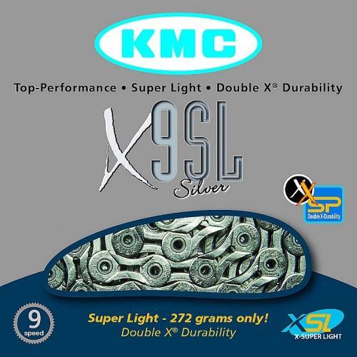 ŁAŃCUCH BOX KMC X-9-SL