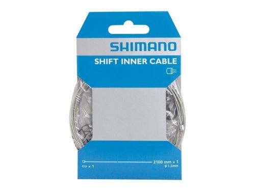 Linka przerzutki Shimano Select ze stali nierdzewnej - 2,1 mx 1,2 mm