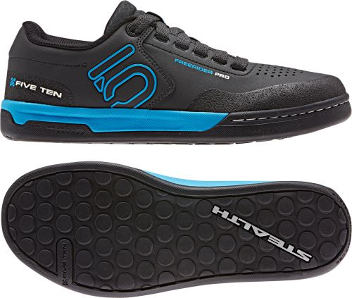 Obuv FiveTen Freerider PRO - CARBON / SHOCK CYAN / CORE BLACK