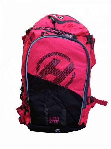Plecak Haven Luminite II 12L - czarny / różowy