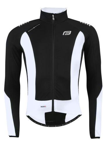 kurtka / koszulka FORCE z długim rękawem X68, czarno-biała