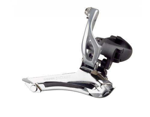 Přesmykač Shimano 105 FD-5800 - objímka Stříbrná