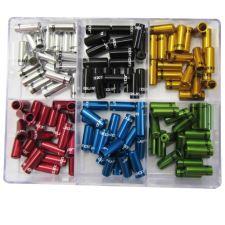 Koncovka bowdenu utěsněná STING ST-652-4 CNC- řadící 4mm - různé barvy