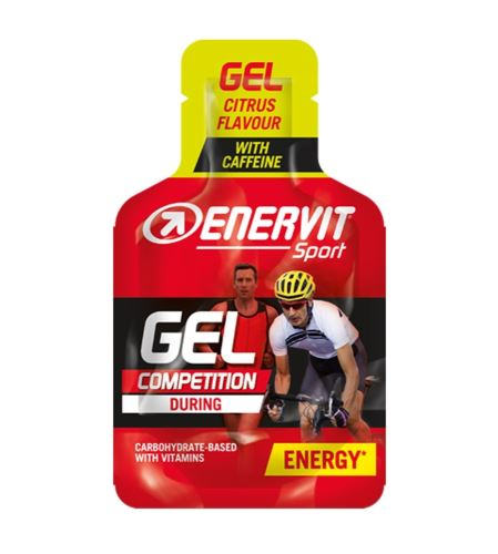 Żel sportowy ENERVIT ENERVITENE 25ml - Różne smaki