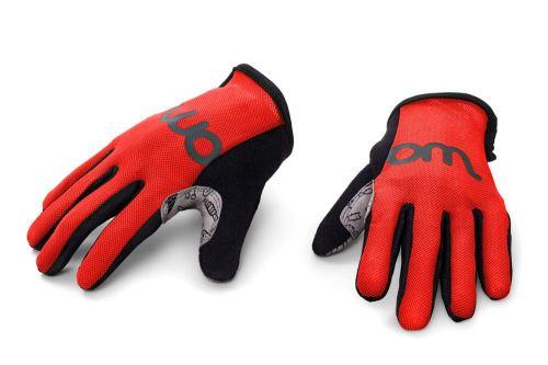 Dětské rukavice WOOM - červená - různé velikosti