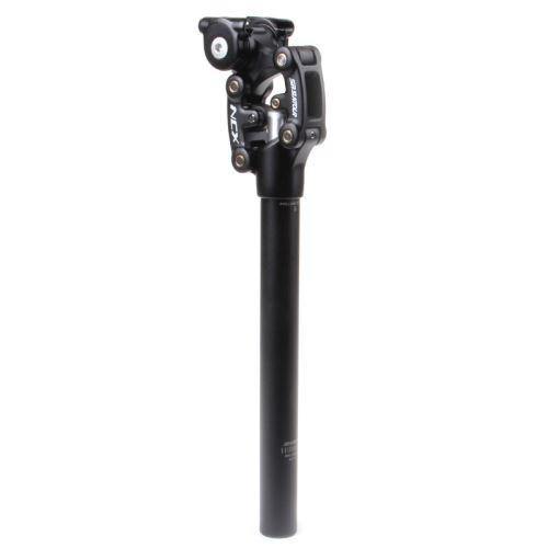 Sedlovka odpružená Suntour NCX, černá, 350 mm