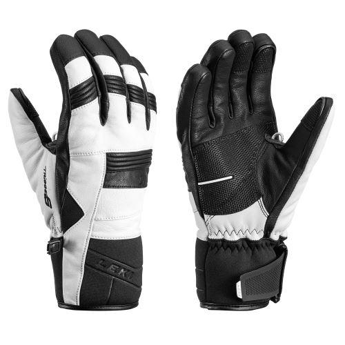 Rukavice LEKI Progressive 8 S white-black