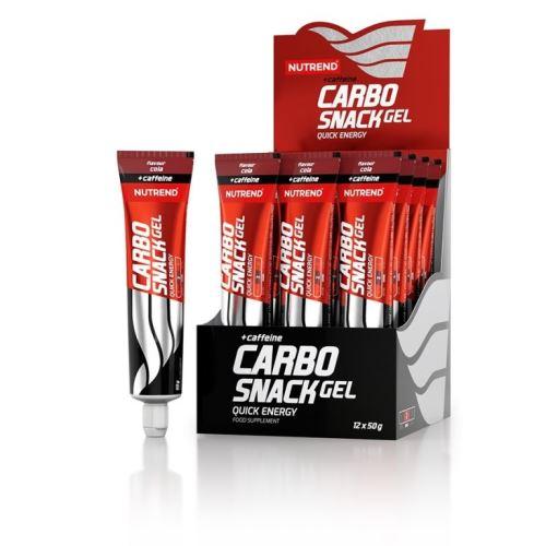 gel Nutrend Carbosnack tuba - Různé příchutě