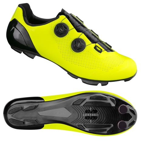 tretry FORCE MTB WARRIOR KARBON, fluo