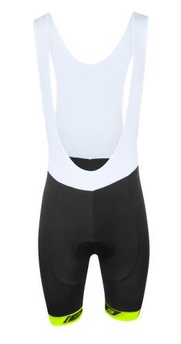 Spodnie FORTE B38 z wkładką, czarno-fluo