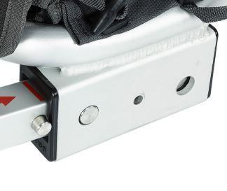 QERIDOO Příslušenství - Adaptér tyče joggingového kolečka/ tažné tyče