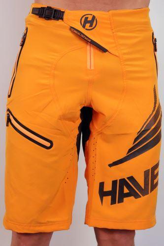 Męskie spodenki rowerowe HAVEN ENERGIZER pomarańczowe