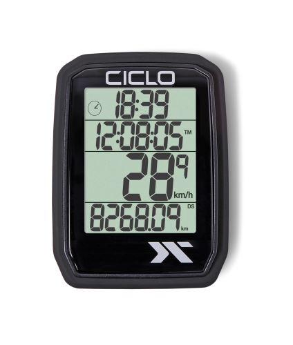 Tachometr CICLO SPORT PROTOS 105 - drátový 5 f - Různé barvy