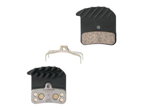Metalowe klocki hamulcowe Shimano M640 / 820 H03C + chłodzenie