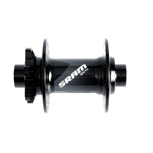 MTB náboj SRAM 716 , přední 6-děr Disc, 32ď. 15x110mm Through Axle Boost Compatible, černý