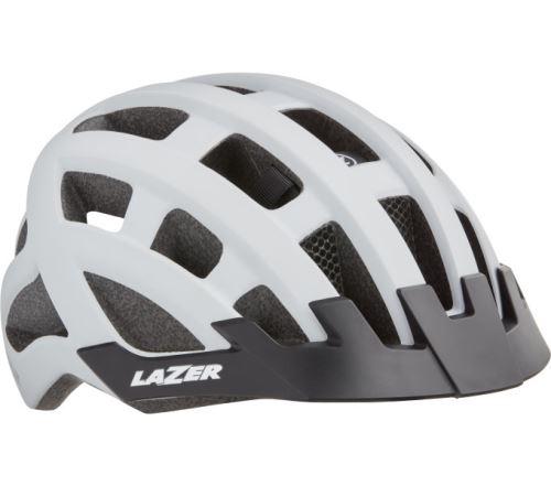LAZER přilba Compact DLX CE-CPSC + net + led (54-61 cm) - Různé barvy