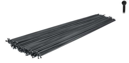 Drut FORCE-MACH1 INOX PLUS / STAL NIERDZEWNA czarny, 2 mm, różne długości
