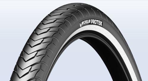 Plášť Michelin Protek 37-622 černý s reflexním pruhem