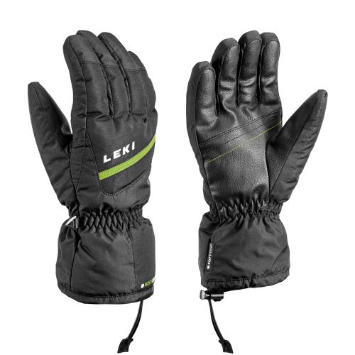 Rukavice LEKI Vero black-lime