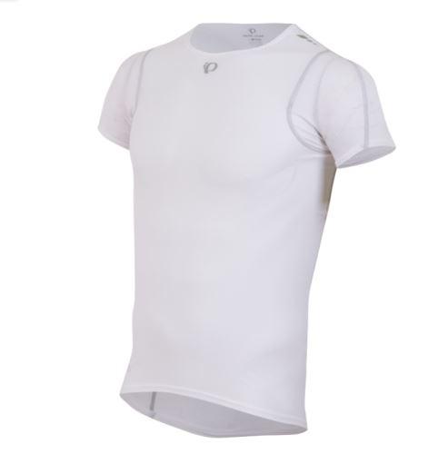 Męska funkcjonalna koszulka PEARL iZUMi TRANSFER LITE SS BASE, biała