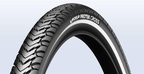Plášť Michelin Protek Cross 32-622 černý s reflexním pruhem