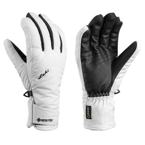 Rękawiczki Rękawiczki Sveia GTX Lady biało-czarne 070