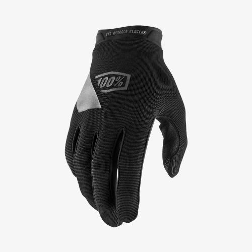 Rukavice 100% RIDECAMP Glove Black - Různé velikosti