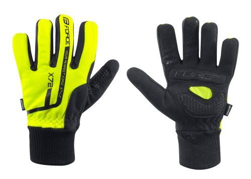 rukavice zimní FORCE KID X72 - Různé barvy