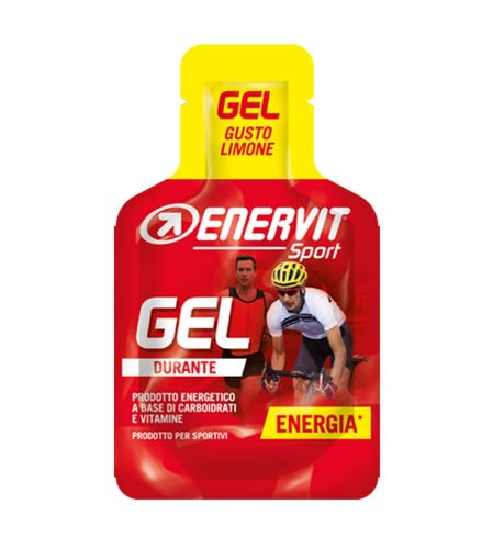 Sport gel ENERVIT ENERVITENE 25ml - Různé příchutě