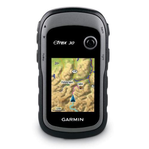 Navigace Garmin eTrex 30x, západní Evropa