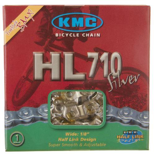 ŁAŃCUCH KMC HL-710 HALF-LINK SILVER BOX