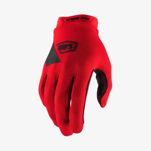 Rukavice 100% RIDECAMP Glove Red