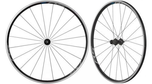 Zestaw kołowy SHIMANO WH-RS100, opona, 10 / 11sp, czarny - para