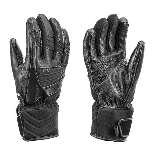 LEKI Griffin S Lady czarne rękawiczki