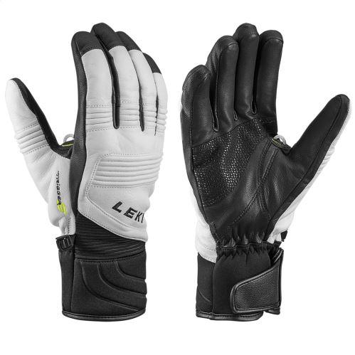 Rękawiczki LEKI eleMents Platinum S biało-czarne
