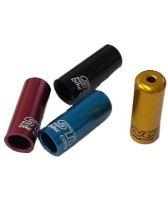 Zatrzask końcowy Bowden STING ST-652-4 CNC- przesuwnik 4mm - różne kolory
