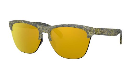 Okulary Oakley Frogskins Lite Splater Crystal Black / 24K