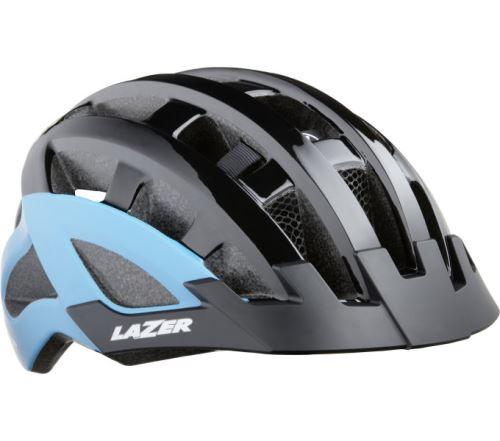 LAZER Compact DLX CE-CPSC / matowy czarny uni + net + mata lodowa