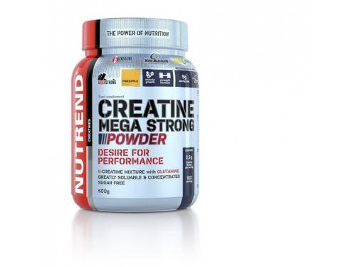 Nutrend Creatine Mega Strong Powder 500 g fasoli