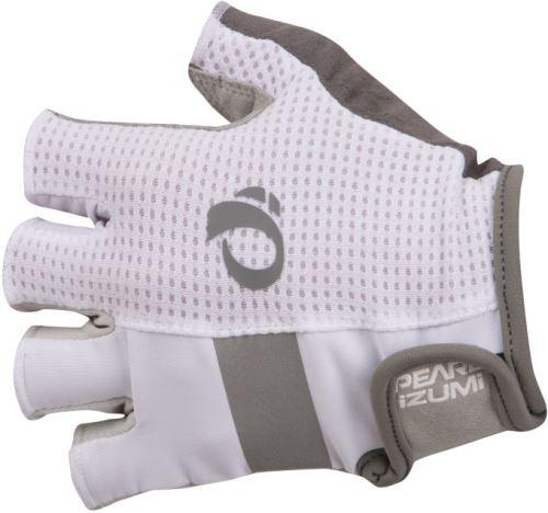 Rękawiczki PEARL iZUMi ELITE GEL, białe