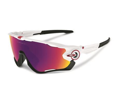 Oakley okulary Biały Połysk Jawbreaker / Prizm drogowe Szkło
