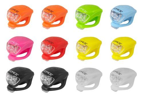 Blikačka FORCE DOUBLE - přední - různé barvy