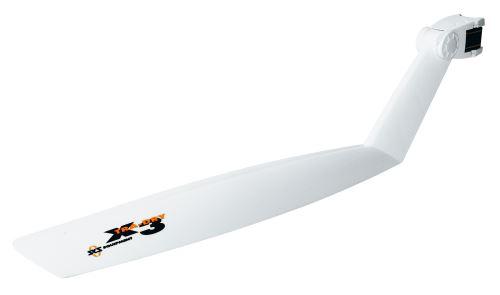 """Błotnik SKS X-TRA-DRY 26-28 """"z tyłu, czarno / biały"""